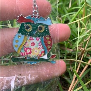 An owl necklace